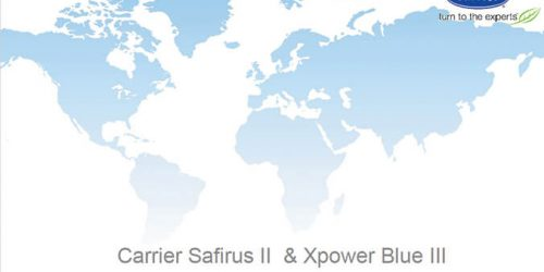 Carrier NEW XPower Blue and Safirus series introduction Spanish