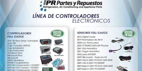 LINEA DE CONTROLADORES ELECTRONICOS