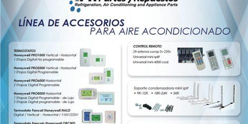 Línea ACCESORIOS PARA AIRE ACONDICIONADO
