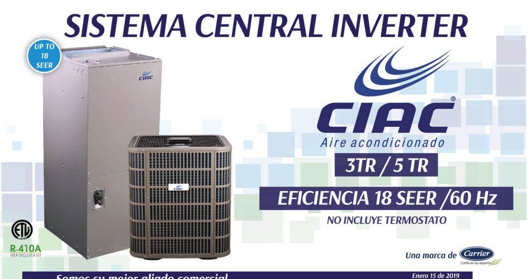 SISTEMA-CENTRAL-INVERTER-18-SEER-CIAC