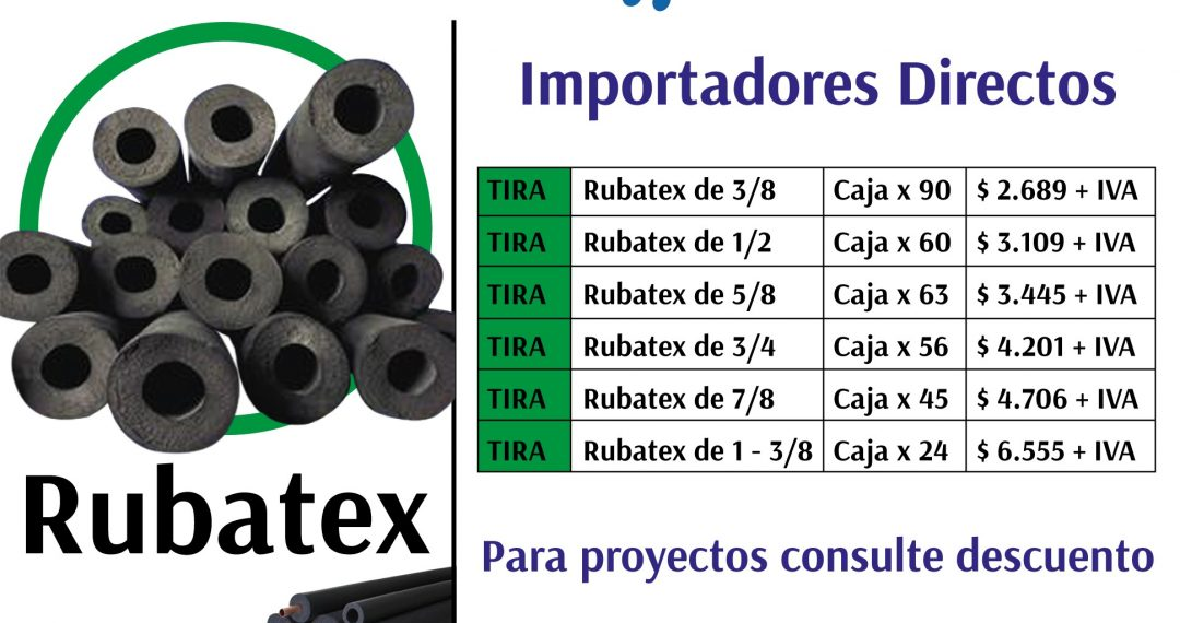 rubatex disponible