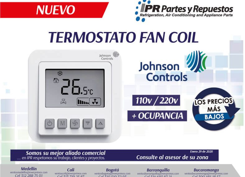 NUEVO-TERMOSTATO-JOHNSON-CONTROLS--